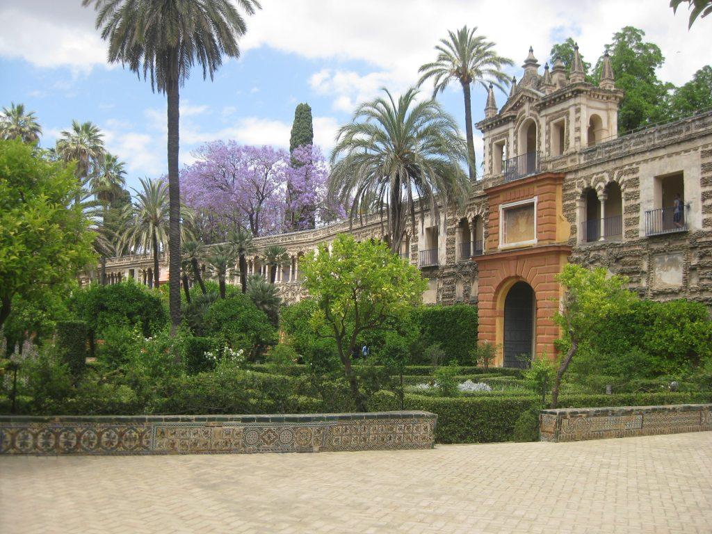 Водные сады Дорна в Севилье