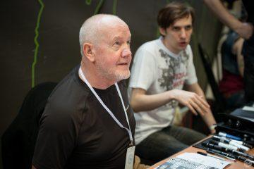 Джон Хиггинс на Moscow Comics Convention