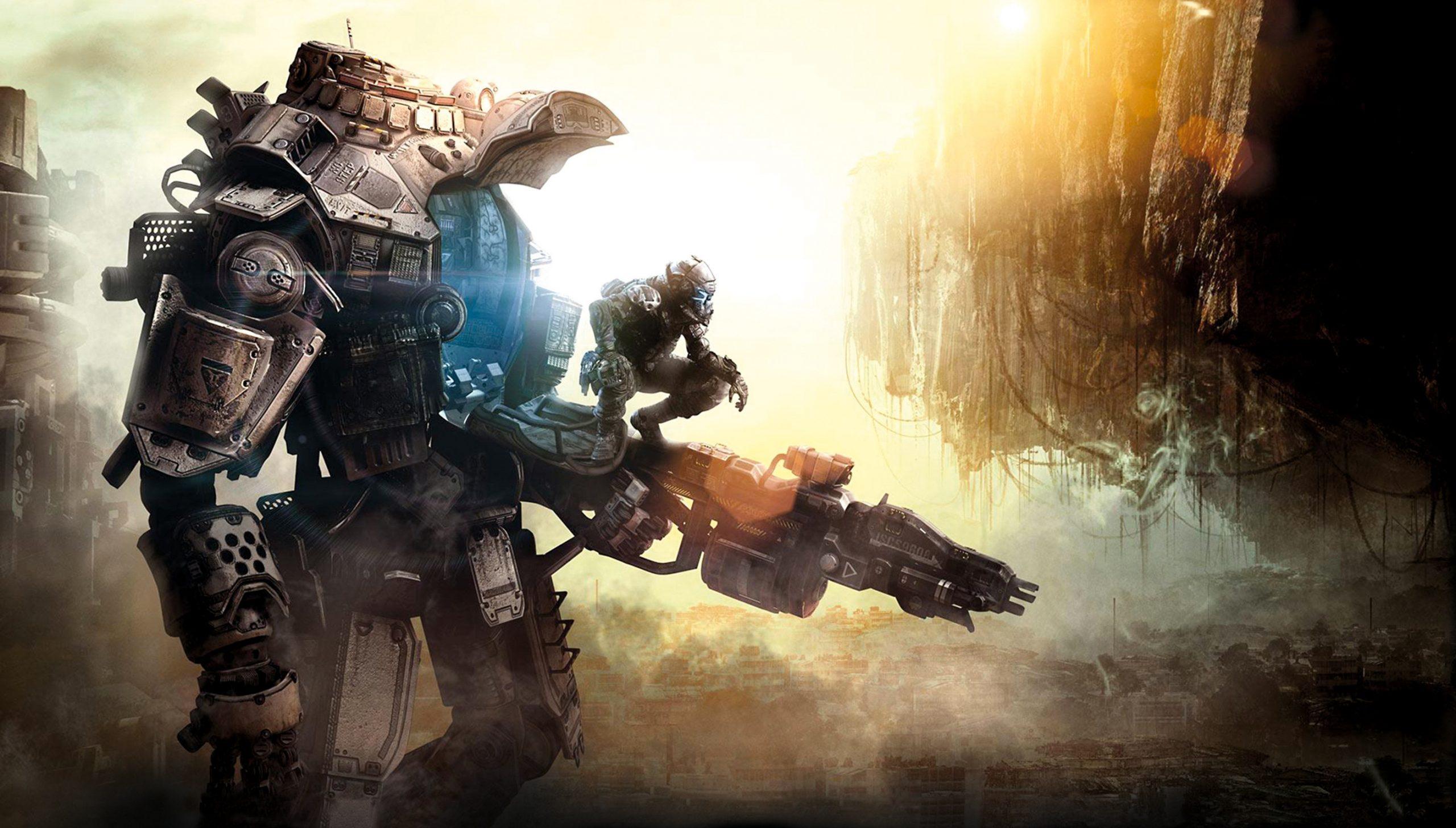 Titanfall. Паркур и гигантские боевые роботы