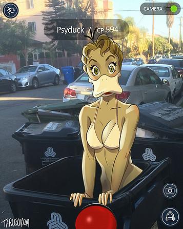 Pokémon Go Psyduck