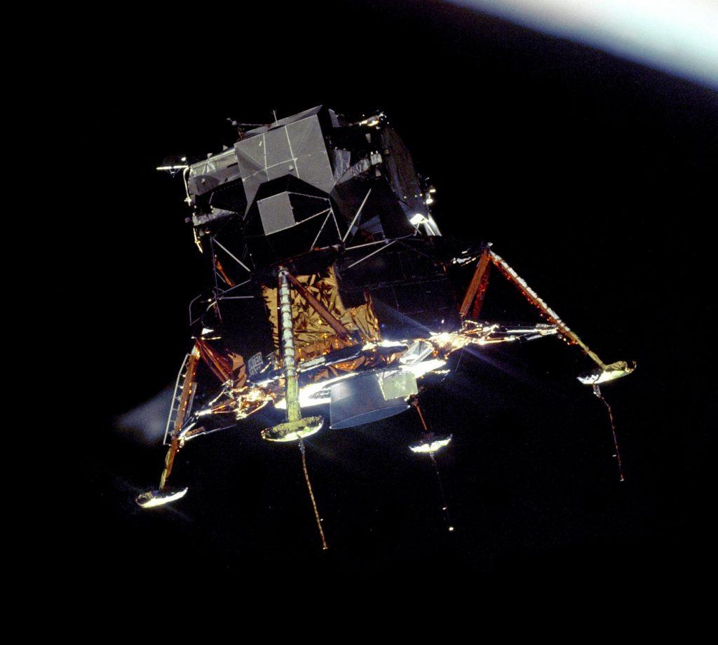 Аполлон-11. Лунный модуль