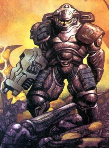 Звездный десантник из комиксов компании Dark Horse Comics.