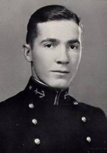 Хайнлайн в Военно-Морской академии. Фото 1929 года.