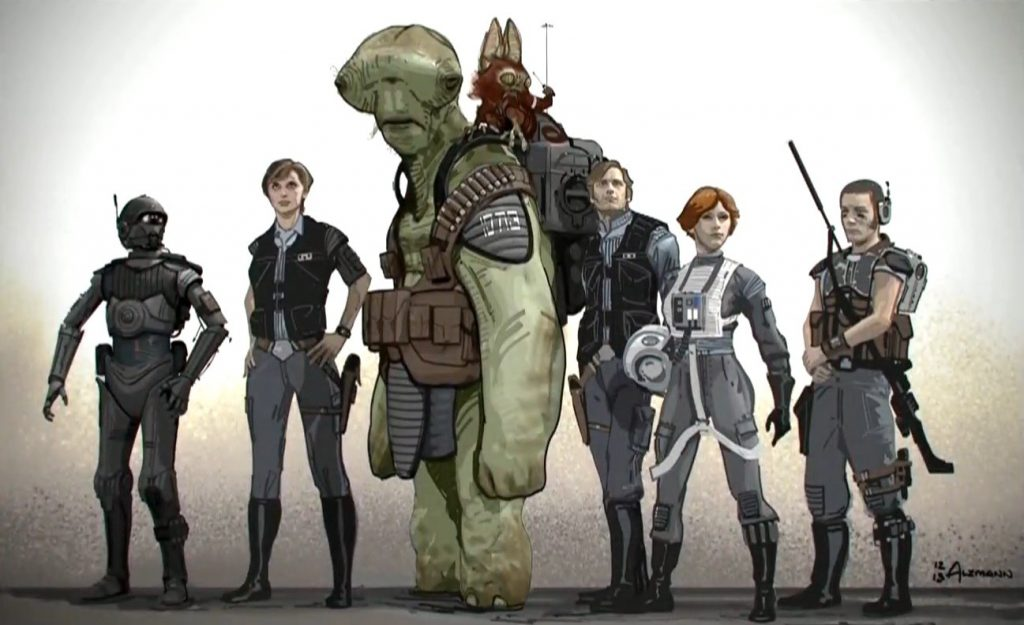 Rogue One концепт