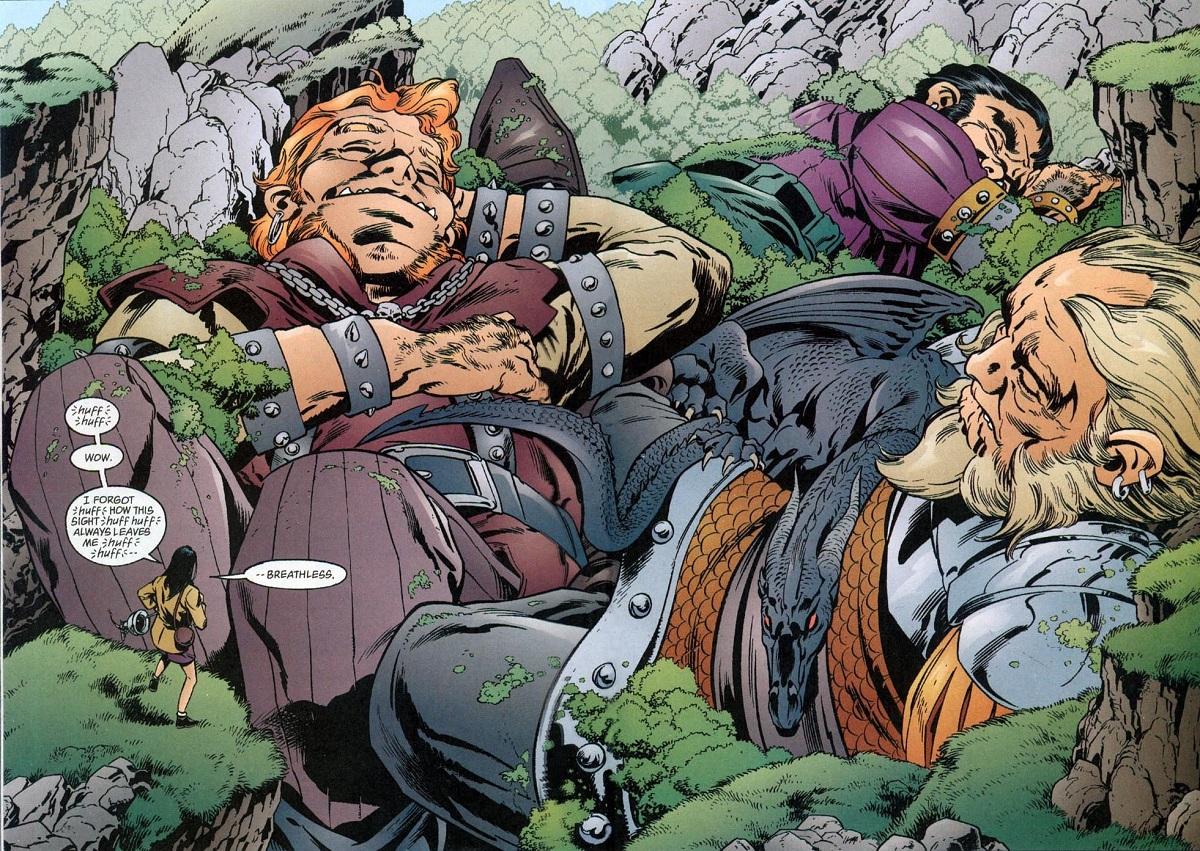fables_comics - комикс-сказки