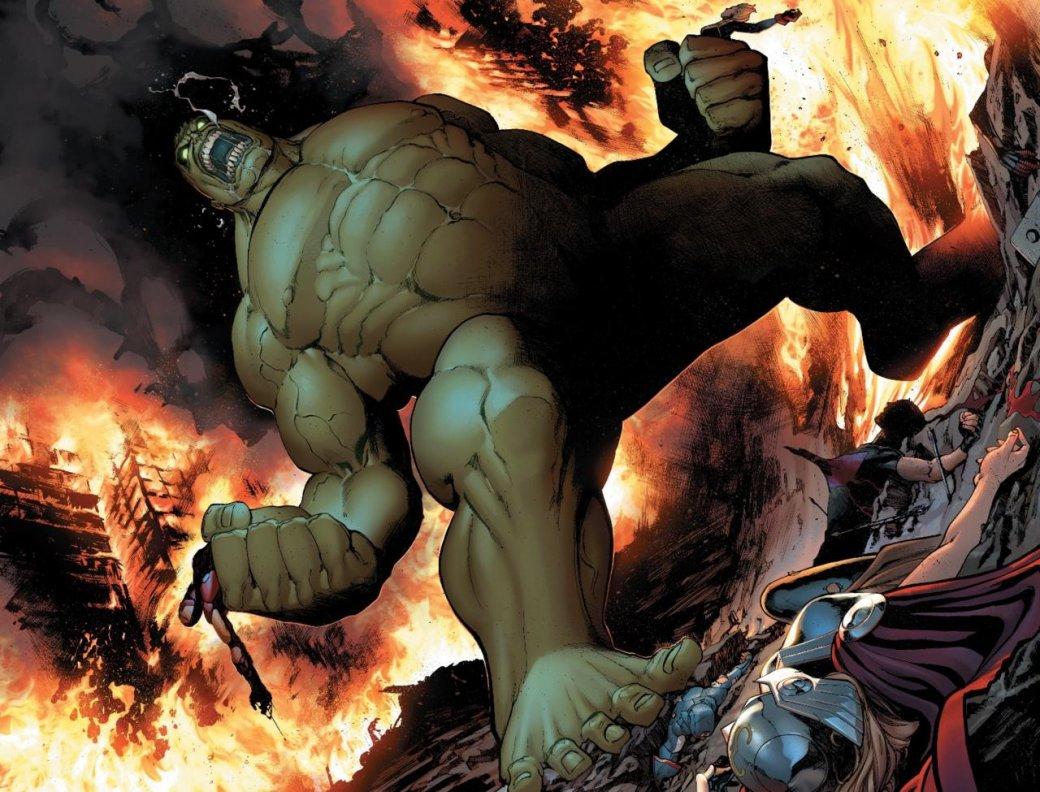 Супергерой Халк извселенной Marvel умер вновом выходе комиксов
