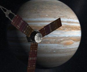 Межпланетная станция «Юнона» вышла на орбиту Юпитера