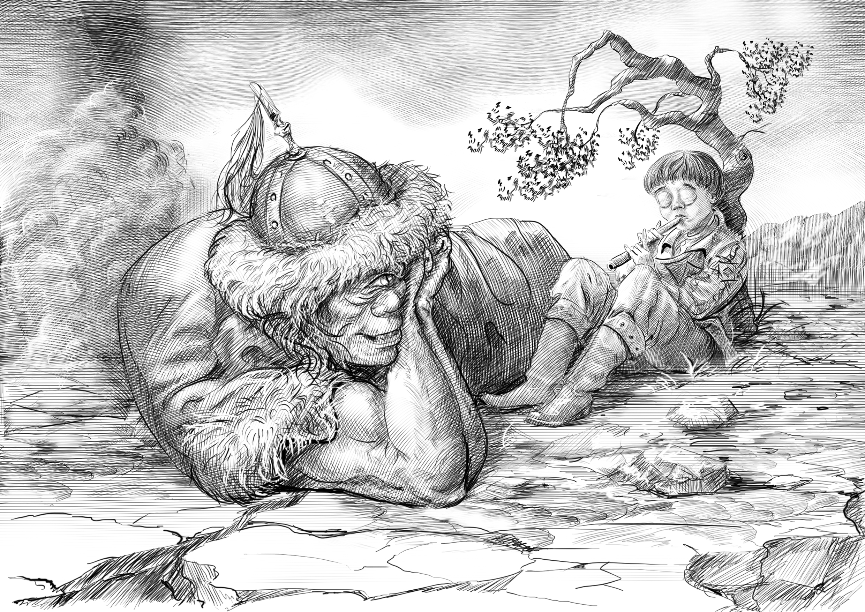 Генри Лайон Олди «Сильные. Пленник железной горы»