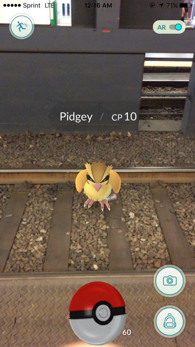 pokemon go рельсы поезда