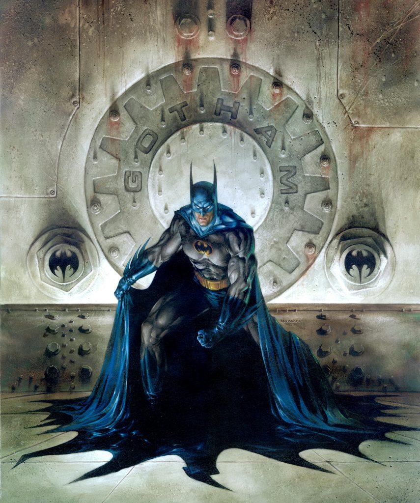 «Сага о Бэтмене». Бэтмен — один из самых любимых героев комиксов, и я не мог упустить возможность поработать над его современным образом для DC Comics. Это одна из моих любимых работ.