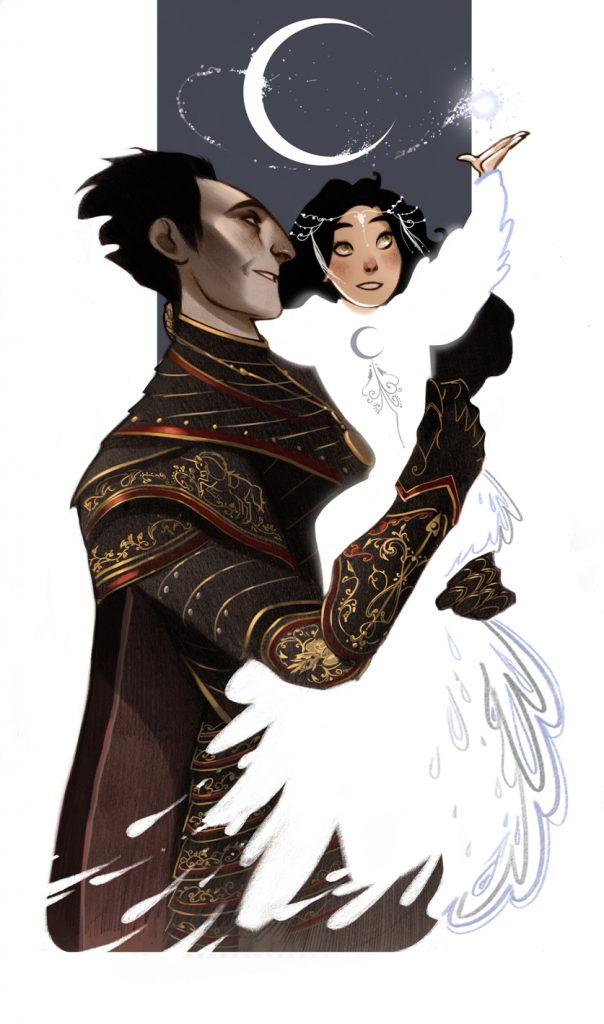 Арт на «Хранителей Снов», Кромешник и его дочь