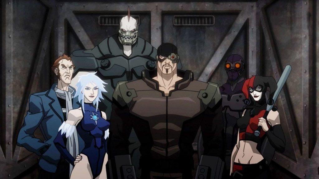 Ближе всего к комиксам Отряд самоубийц показан не в одноимённом фильме, а в мультфильме «Нападение на Аркхэм»
