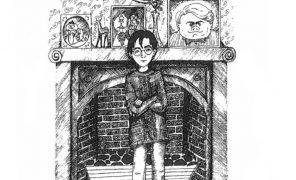 Рисунки Джоан Роулинг по Гарри Поттеру. Как автор представляла своих героев