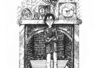 Рисунки Джоан Роулинг по Гарри Поттеру 8