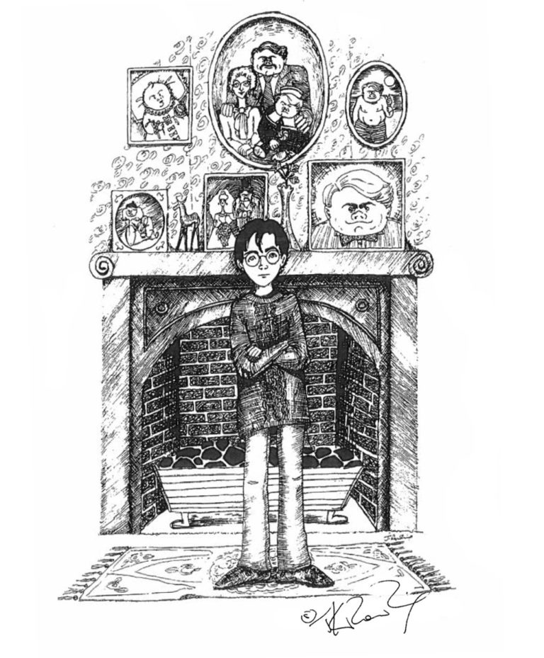 Маленький Гарри в доме Дарсли