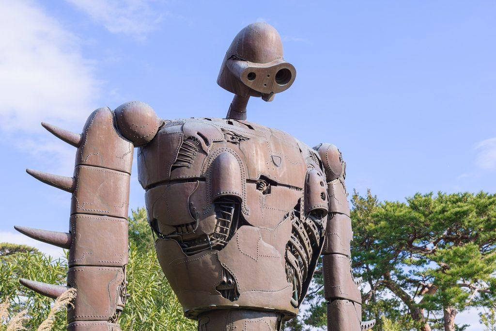 Робот из «Лапуты» в музее Ghibli (фото: Wei-Te Wong)