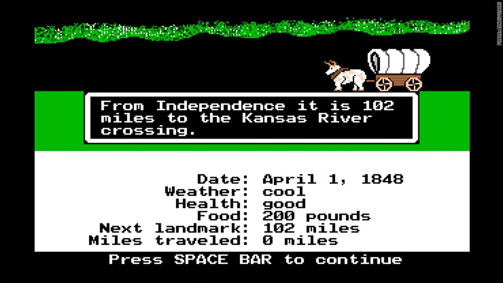 Одна из «10 лучших игр всех времён» знаменита только фразой «Вы умерли от дизентерии»