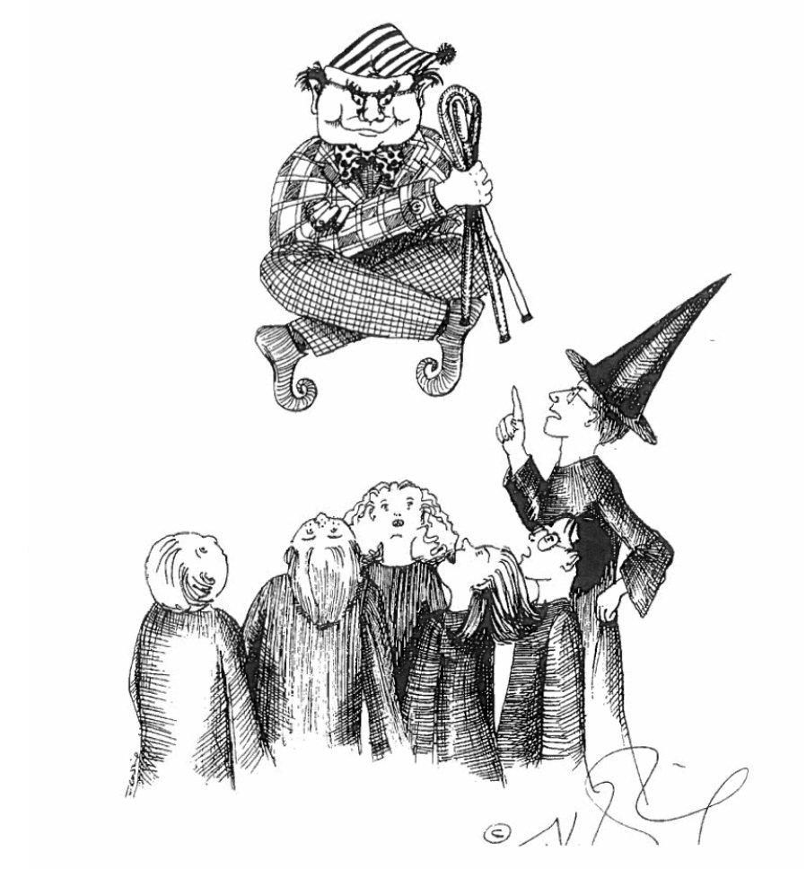 Пивз, злой призрак Хогвартса