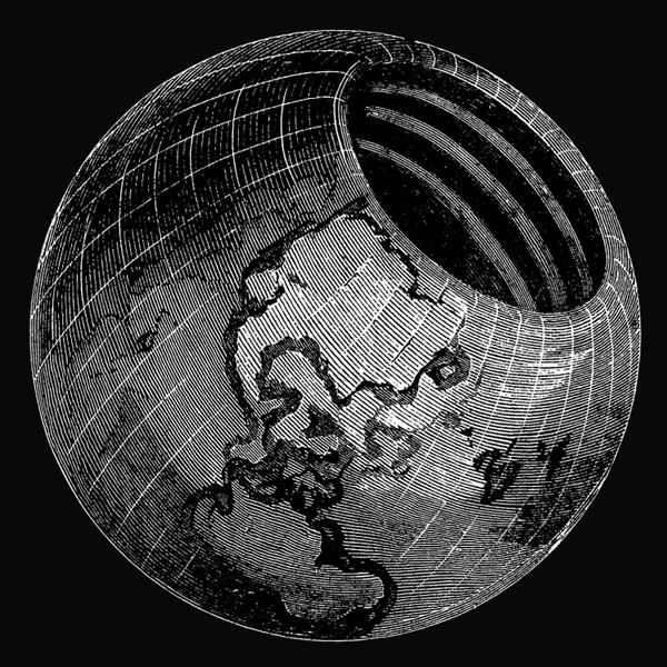 Предвидя, что фантастам потребуется много места для подземных монстров, Галлей разделил подземный мир на верхний, средний и нижний
