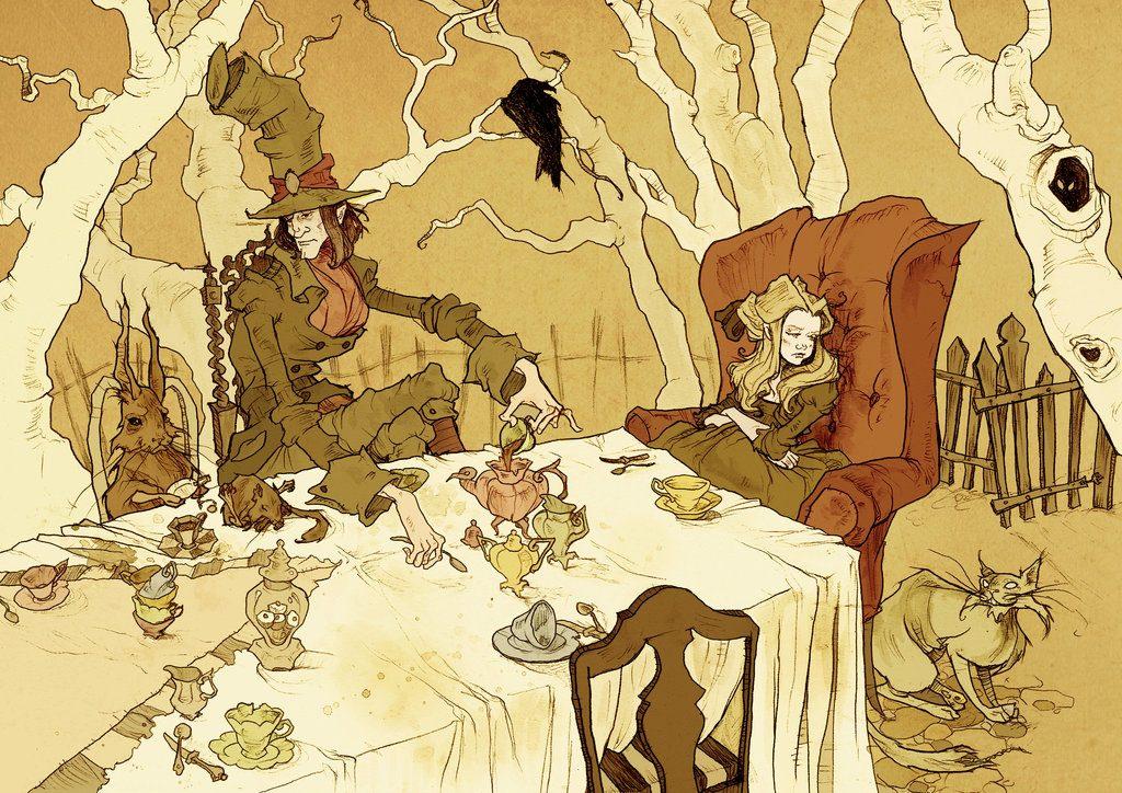 «Безумное чаепитие», работа Эбигейл Ларсон