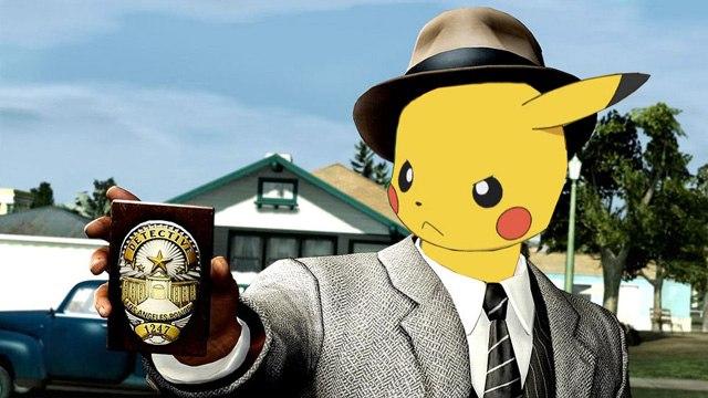 Детектив Пикачу