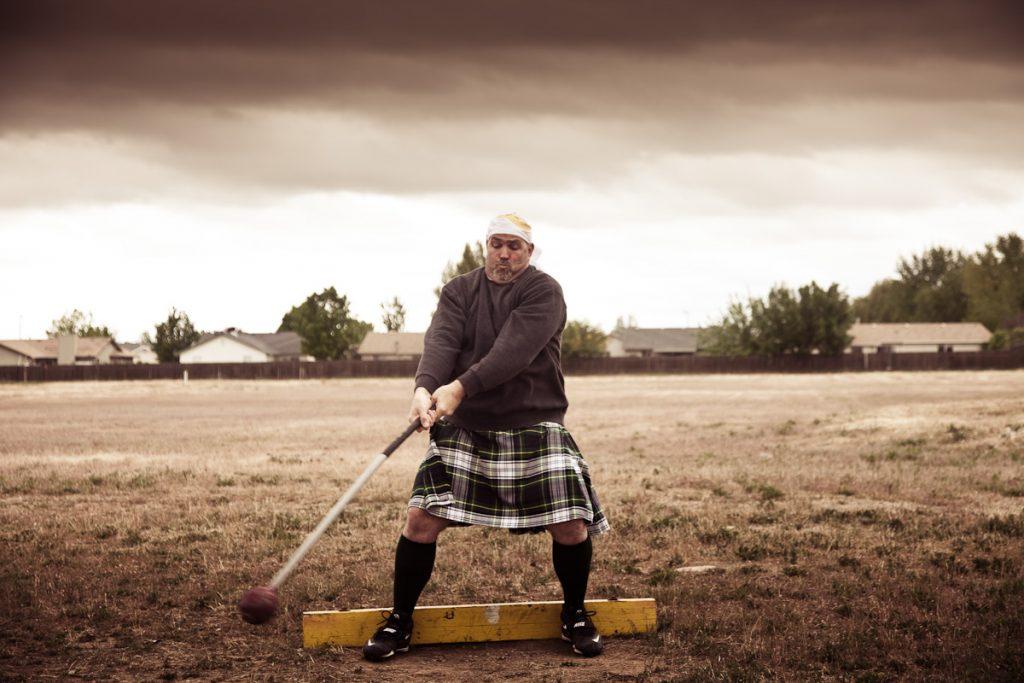 Шотландские игры горцев