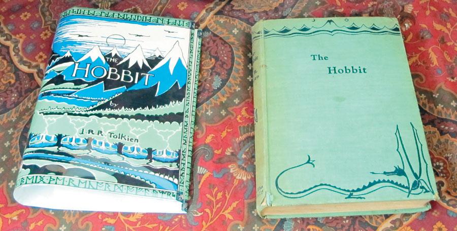 Первое британское издание «Хоббита».