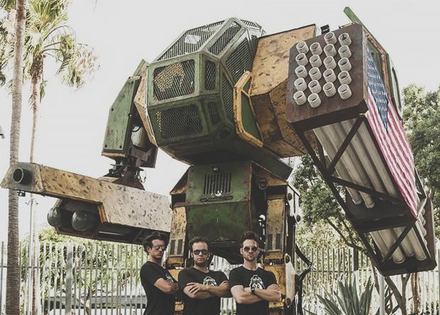 Строительство реального боевого робота покажут в веб-сериале