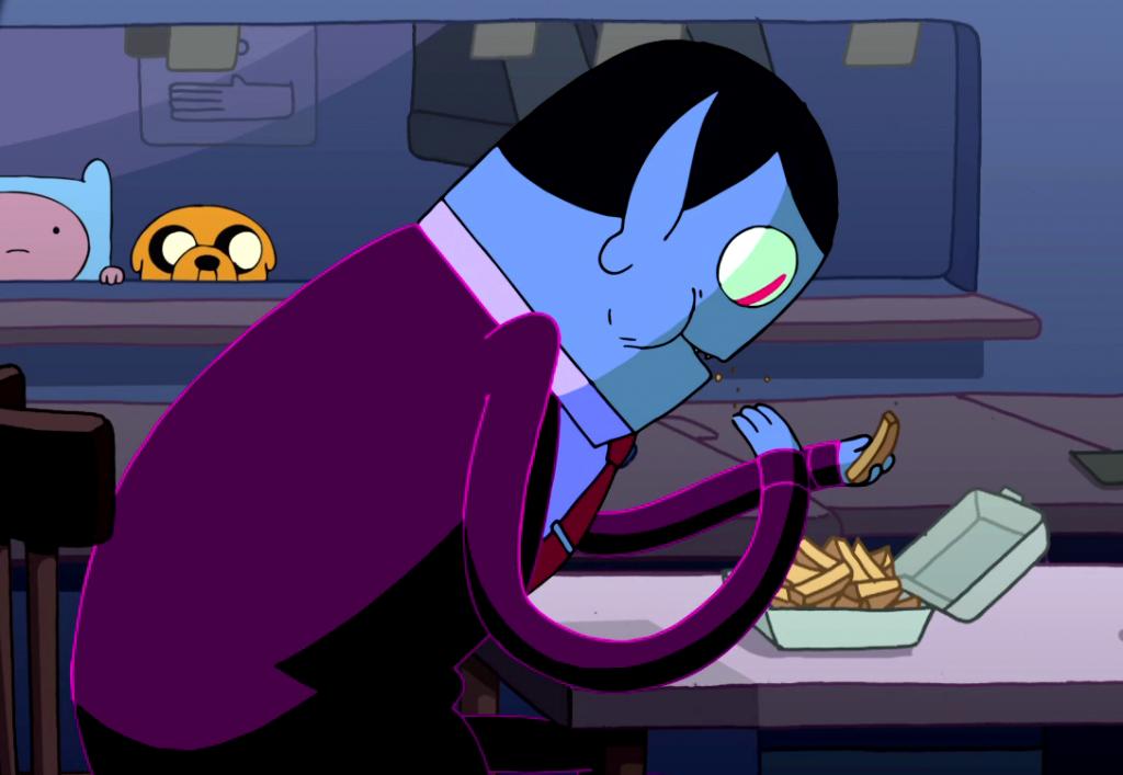 Марселин могла простить своему отцу, что он повелитель тьмы и зла. Но съесть её картошку-фри? Это была последняя капля!
