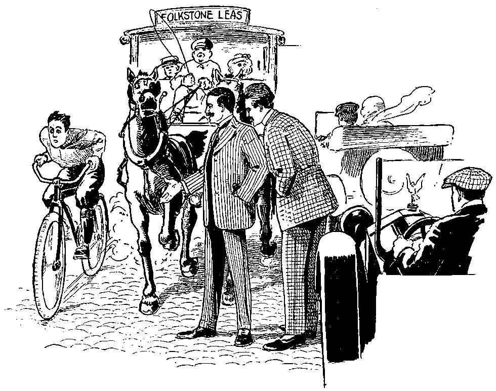 Иллюстрация к рассказу «Новейший ускоритель»
