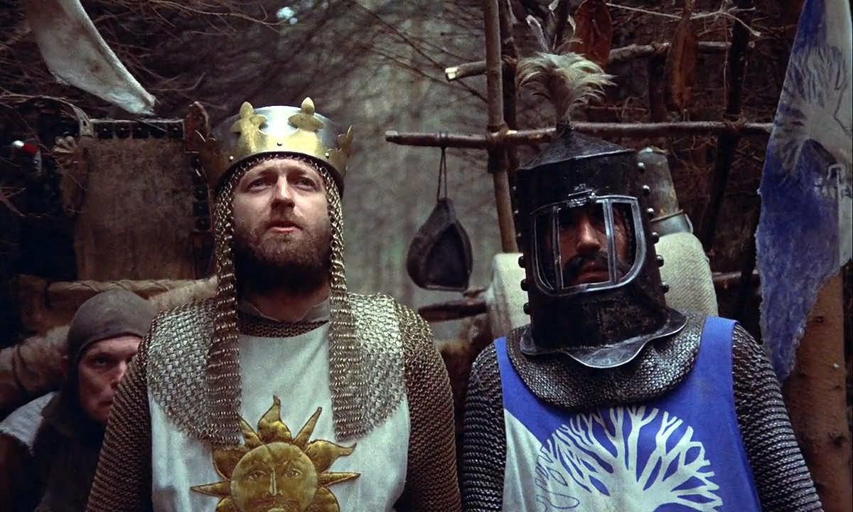 Король Артур и Монти Пайтон