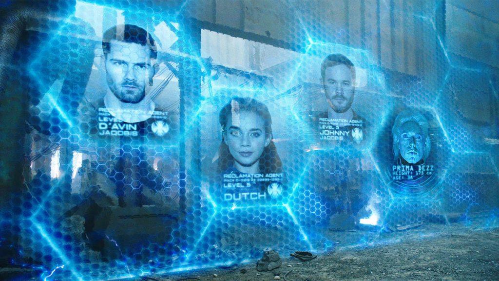 Сходство сериала с Mass Effect можно увидеть и в антураже