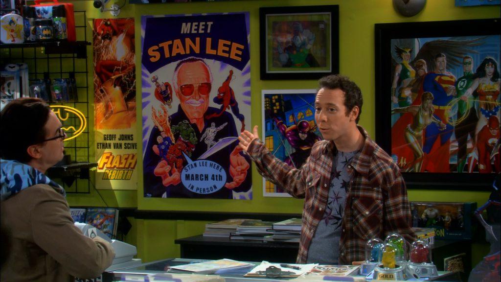 Стэн Ли – единственная связь с Marvel на этой фотографии