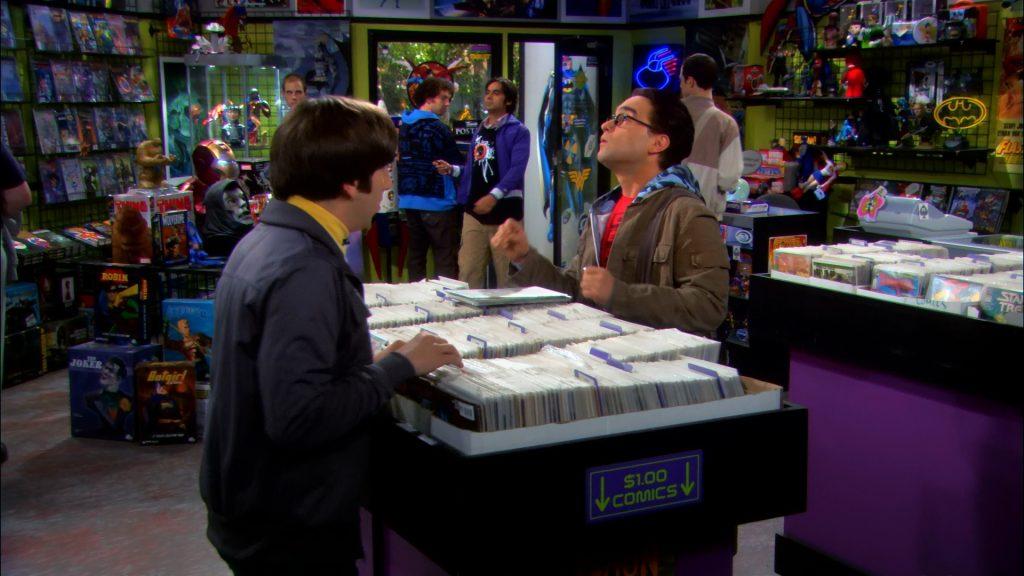 Хотя ребята ходят в магазин комиксов каждую среду, первым делом они идут к стенду с подержанными изданиями