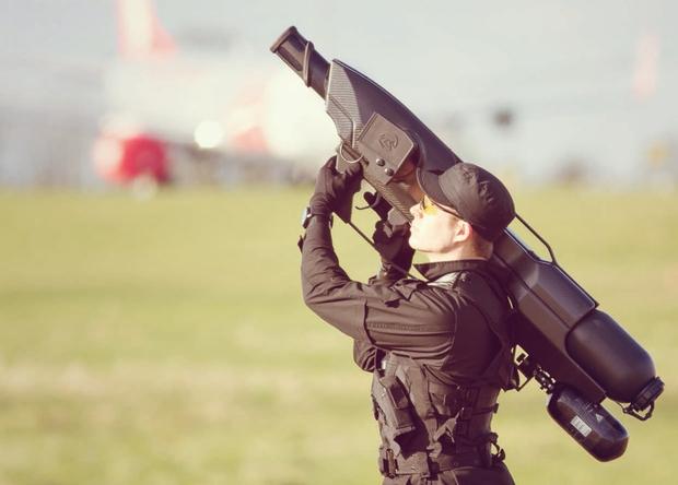 Пушка для отстрела дронов