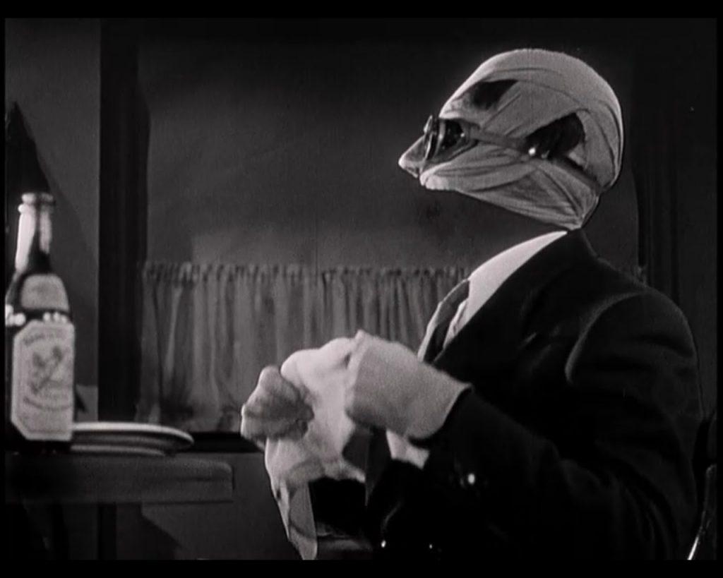 «Человек-невидимка» из знаменитой серии ужастиков студии Universal