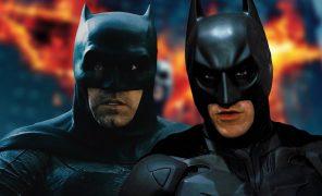 Бэтмен против Тёмного рыцаря: пародийный трейлер