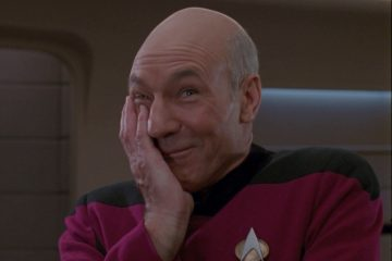picard cute facepalm