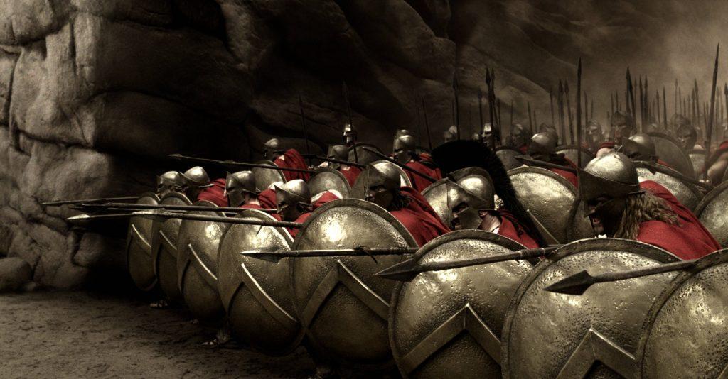 Плотные боевые построения позволяли бойцу не опасаться за свою спину и не оглядываться по сторонам, сосредоточив внимание и усилия на единственном противнике прямо перед собой