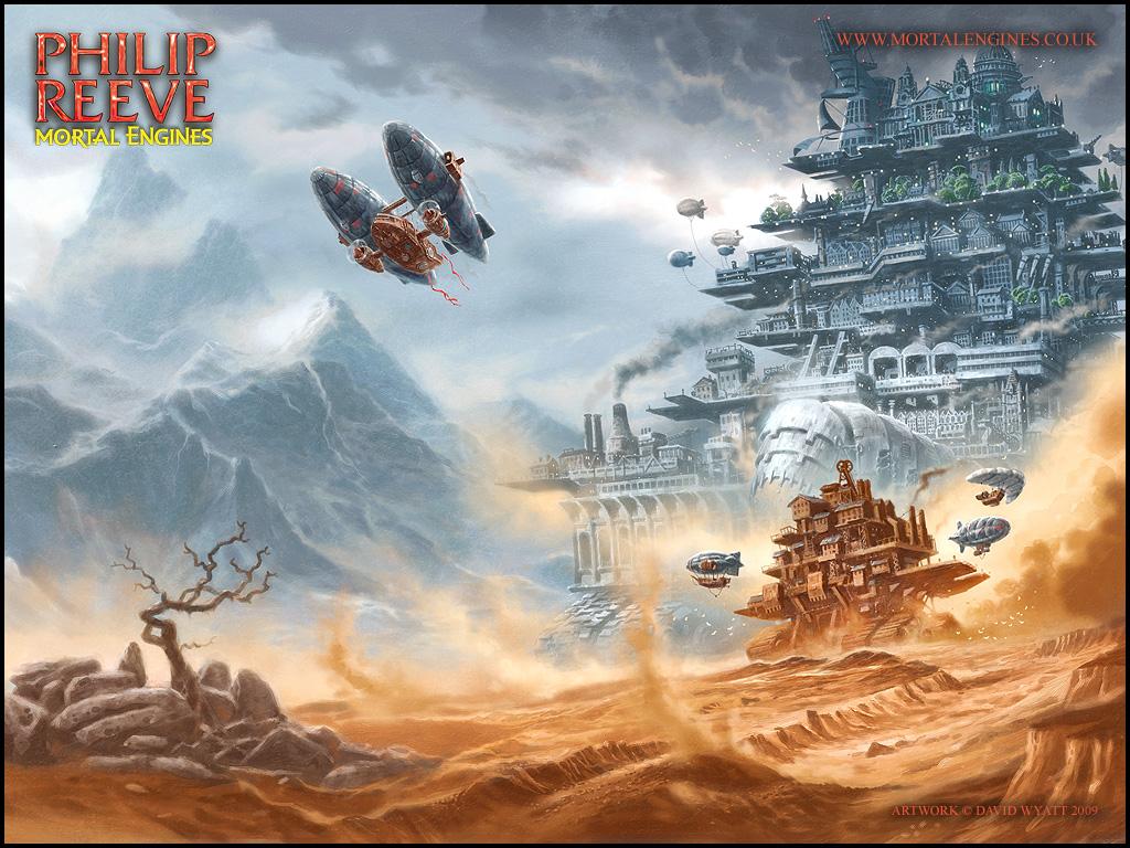 Питер Джексон адаптирует стимпанк Mortal Engines про города наколесах