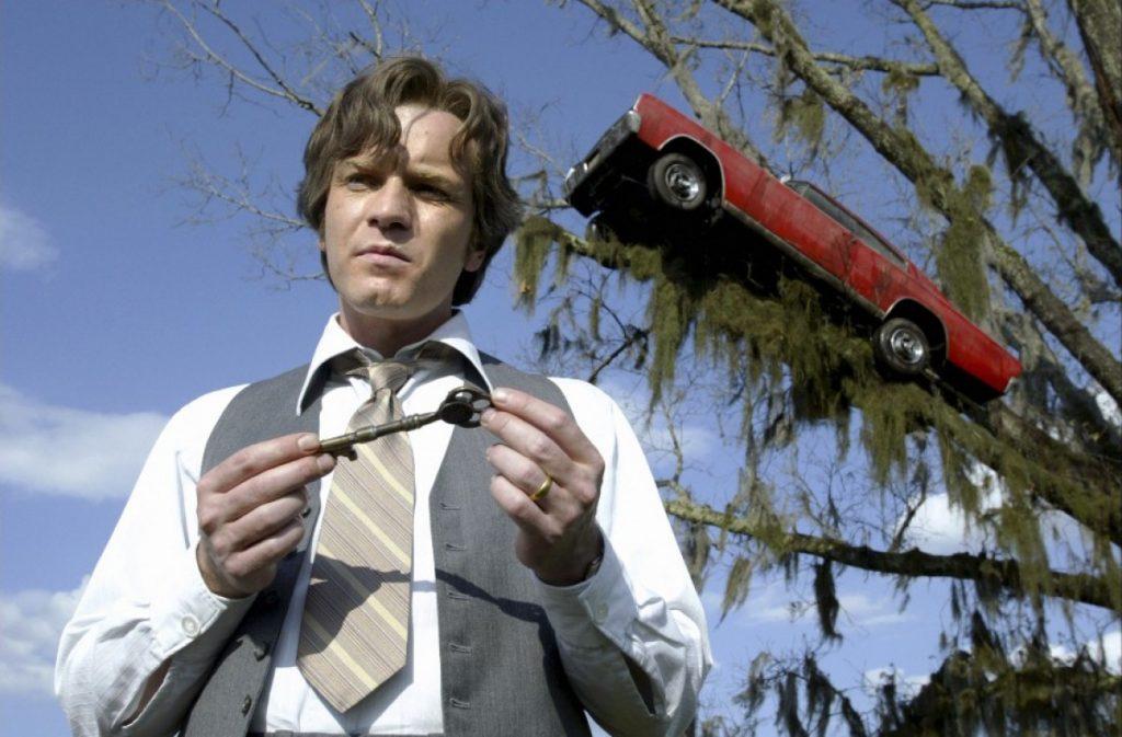 «Нет, нам придется повесить машину на дерево!» - сказал Бёртон на съемках «Крупной рыбы»