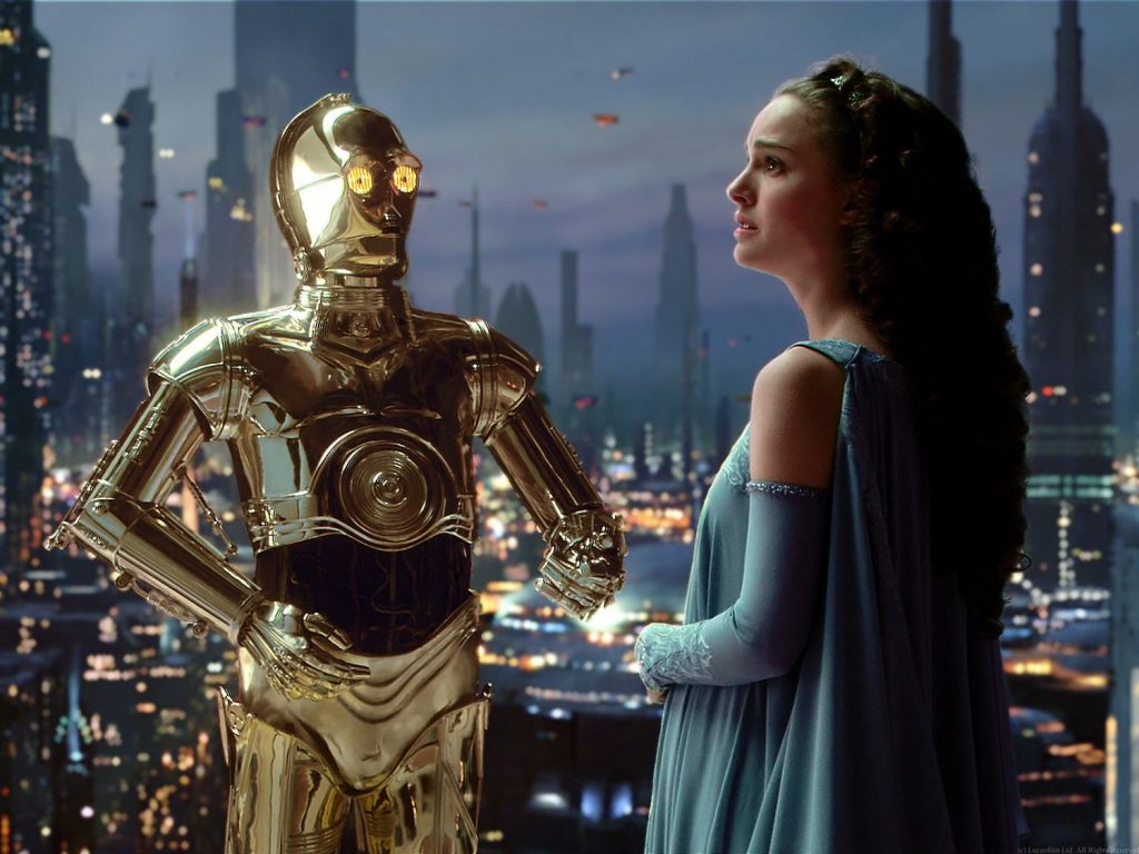Для C-3PO почти каждый разговор с человеком — успешно пройденный тест Тьюринга. В отличие от реальных программ, робот из «Звёздных войн» разумен и обладает не только интеллектом, но и чувствами