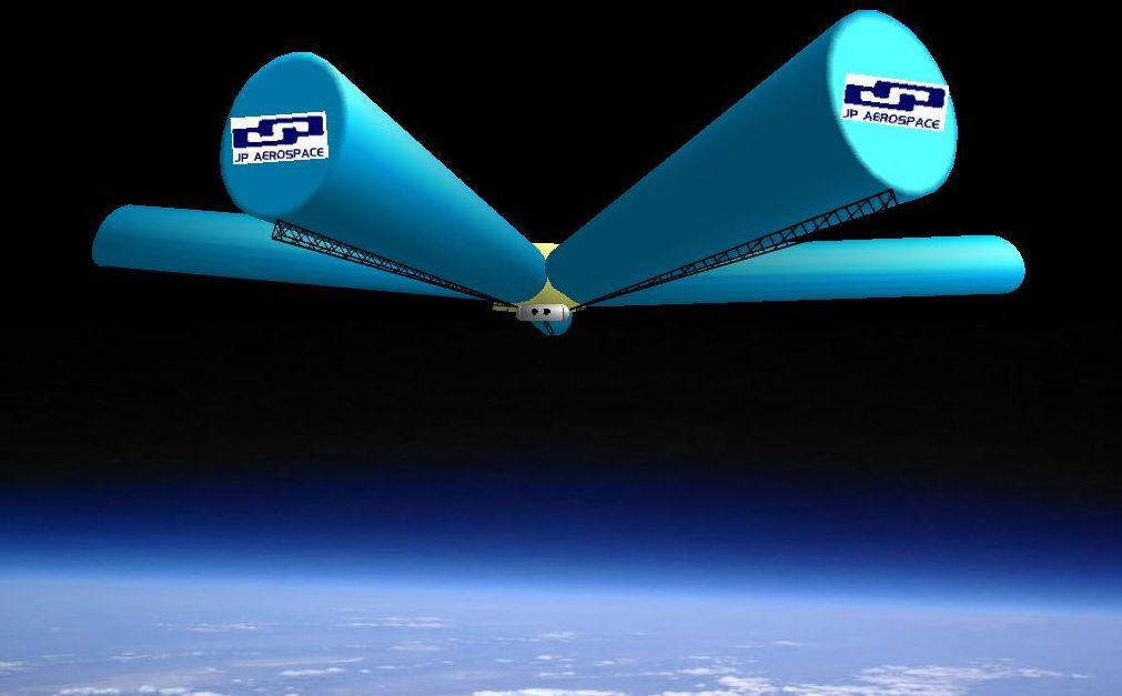 В США разрабатывается проект парящего на высоте 42 километров исследовательского дирижабля Dark Sky Station шириной 3,2 километра в поперечнике