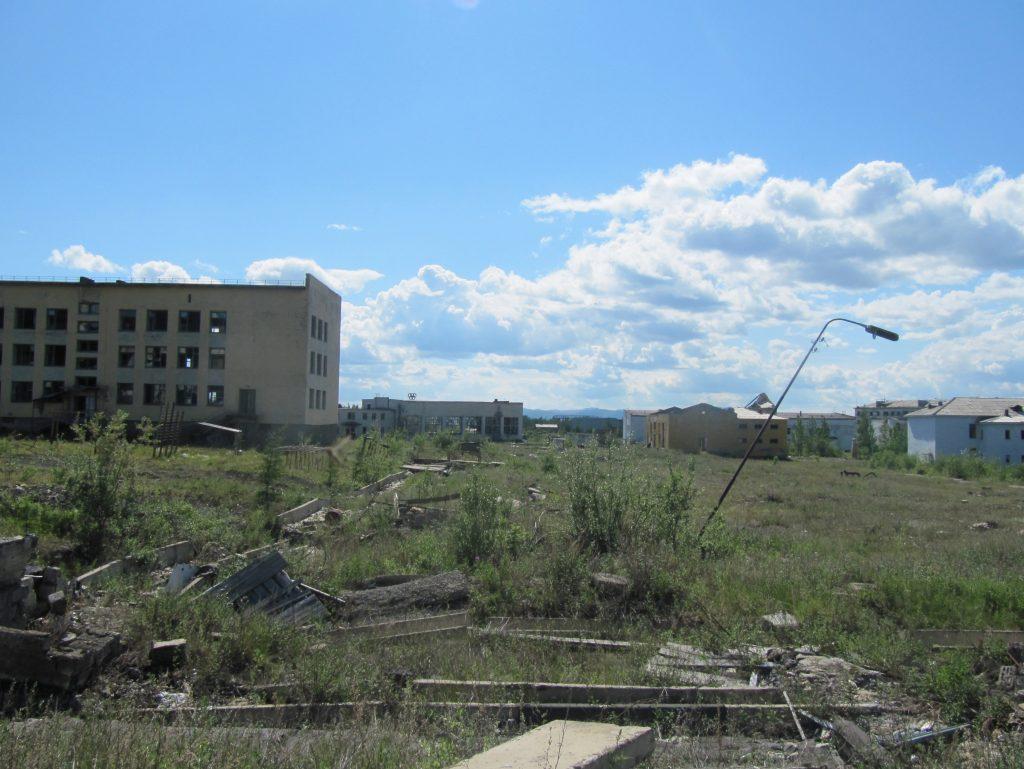 Заброшенные города 16