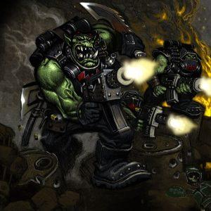 Орк. Warhammer 40000