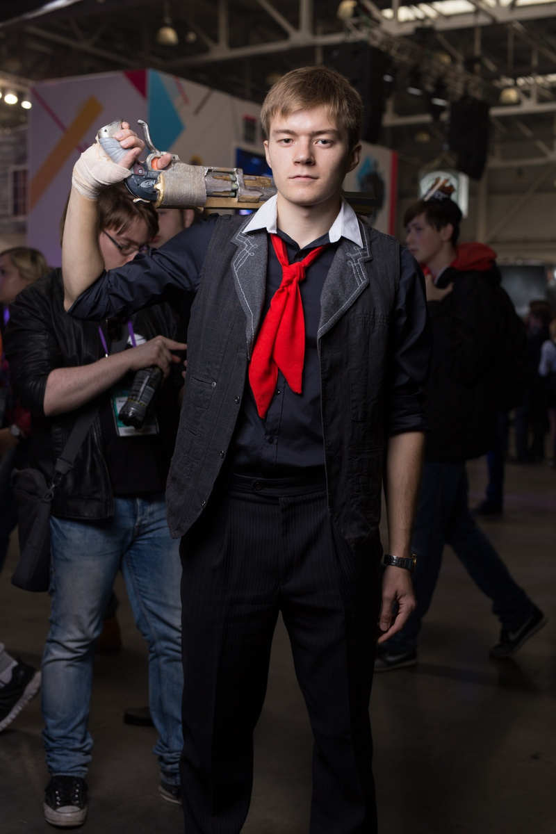 Косплей Bioshock Comic Con Russia