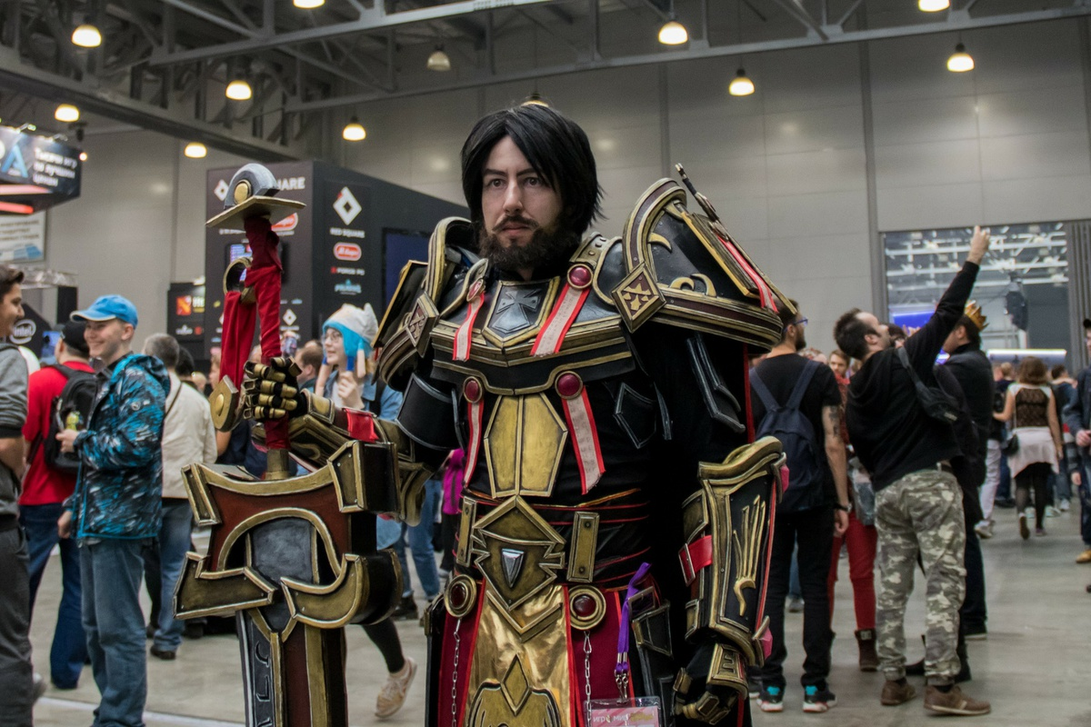 Косплей Warcraft Comic Con Russia