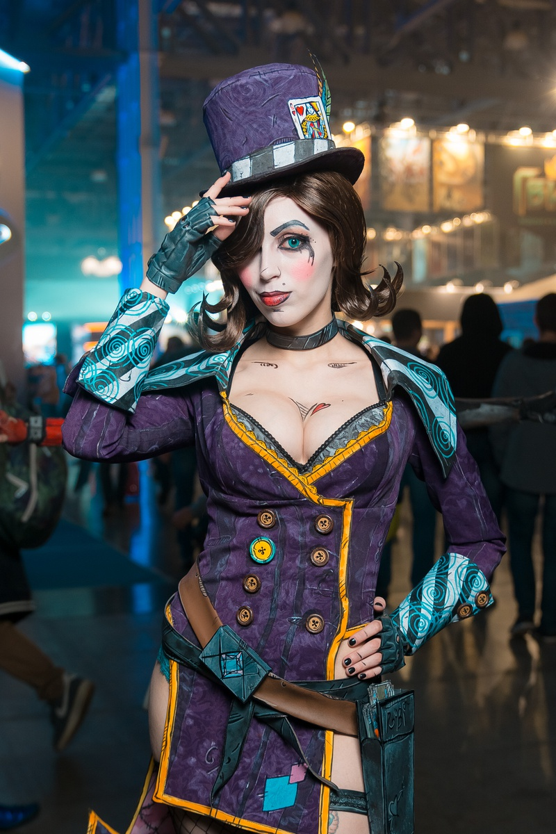 Косплей Borderlands Comic Con Russia