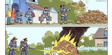 Комикс: 451° по копирайту