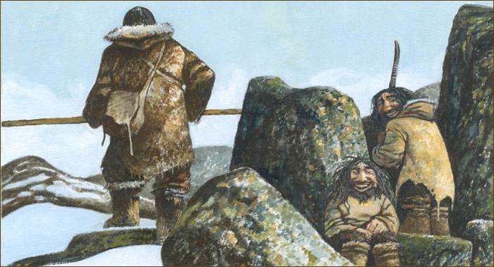 Мифология Арктики. Демоны крайнего севера